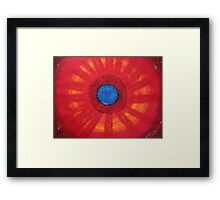 Medicine Wheel original painting Framed Print