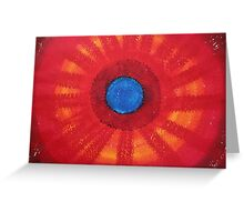 Medicine Wheel original painting Greeting Card