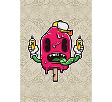 I Scream Cartoon Character Photographic Print