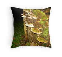 Attached... Throw Pillow