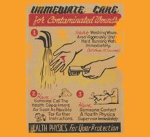 immediate care contaminated 1950's t-shirt by nicethreads