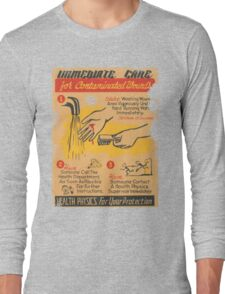 immediate care contaminated 1950's t-shirt Long Sleeve T-Shirt