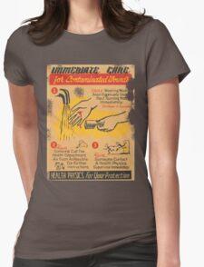 immediate care contaminated 1950's t-shirt Womens T-Shirt
