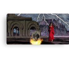 Catphrodite in the Burial Valley of the Red Wind - part 1 Canvas Print