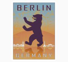 Berlin vintage poster by paulrommer