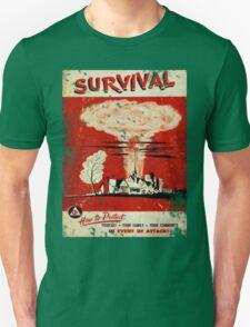 Survival nuclear 1950's Vintage T-shirt T-Shirt