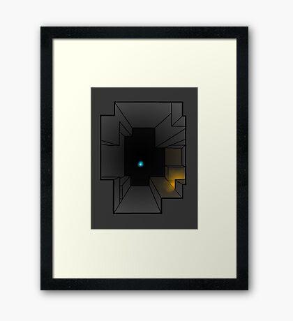 minecraft ore Framed Print