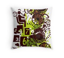 24/7/365 Throw Pillow