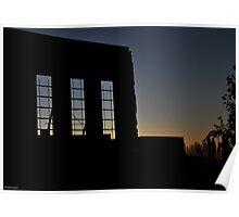 Facade Silhouette 1 Poster