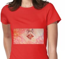 Lips: Little Secrets Womens Fitted T-Shirt