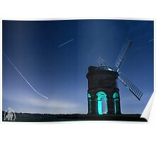 Chesterton light trails Poster
