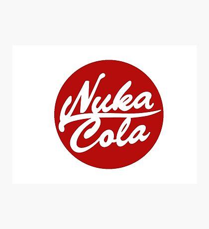 Nuka Cola Photographic Print