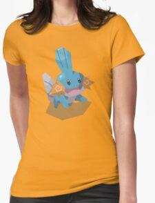 Cutout Mudkip Womens Fitted T-Shirt