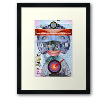 Charming Entertaining Witty Framed Print