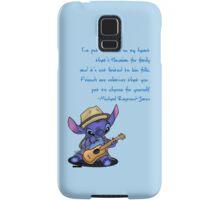 Stitch as MRJ Samsung Galaxy Case/Skin
