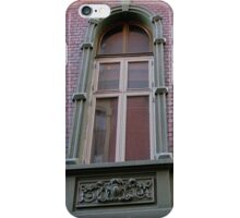 Arched Oslo Window in a Brick Wall iPhone Case/Skin