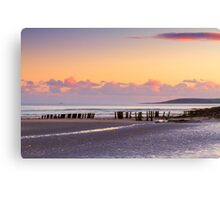 Harbour View Beach Canvas Print