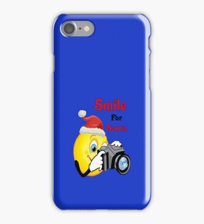 Smile for Santa (iPhone) iPhone Case/Skin