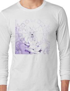 Sketchy Sketch Anemone Long Sleeve T-Shirt