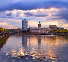 Dublin Docklands by Michael Walsh