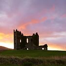 Ballycarbery Castle,Cahersiveen, Co.Kerry by Michael Walsh