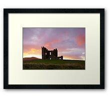 Ballycarbery Castle,Cahersiveen, Co.Kerry Framed Print