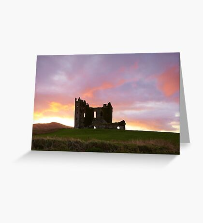 Ballycarbery Castle,Cahersiveen, Co.Kerry Greeting Card