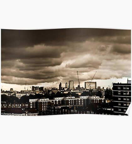 The Ecstatic City Of London #1  Poster