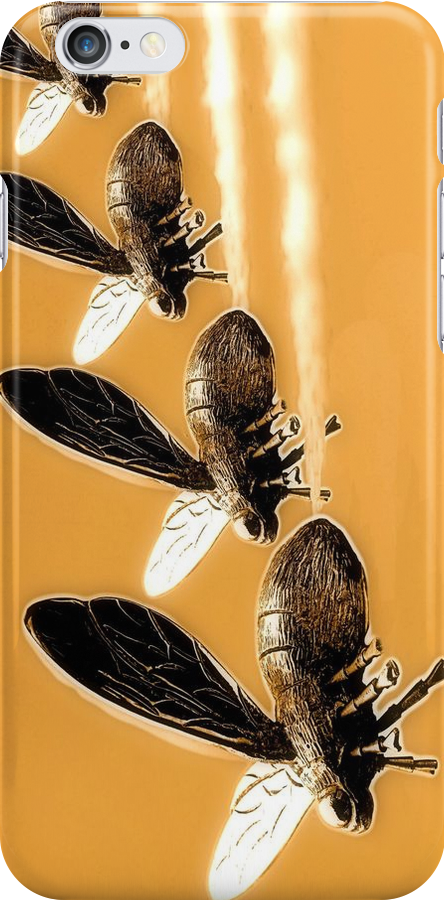 Bee iPhone by SuddenJim