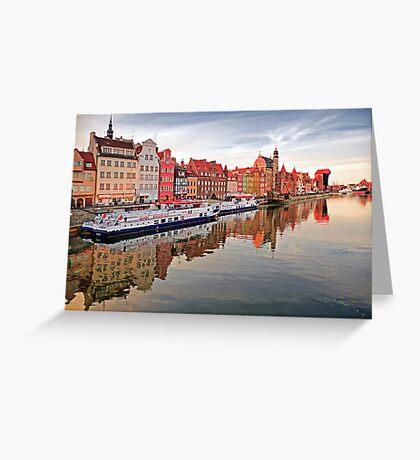 Gdansk, Poland Greeting Card