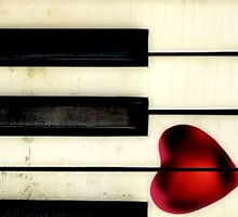 Piano Heart iPhone by SuddenJim