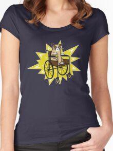 Breaking Grumpy Women's Fitted Scoop T-Shirt