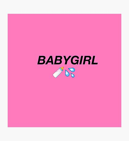Baby Girl  Photographic Print