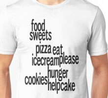 I Love Food Unisex T-Shirt