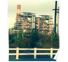 Oxnard Power Plant Entrance Poster