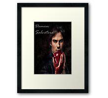 Damon Salvatore Framed Print