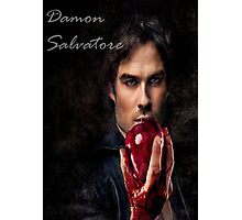 Damon Salvatore Photographic Print