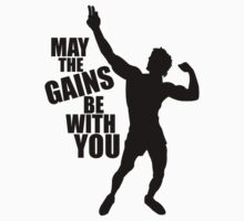 Zyzz May the Gains be with you by ZyzzShirts