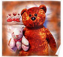 """The Teddy Bears """"Teddy Bear"""" Poster"""