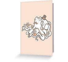 Inked Greeting Card
