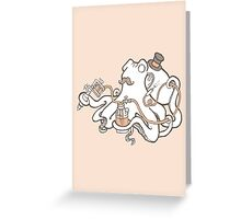 Inked Greeting Card