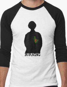Burning Men's Baseball ¾ T-Shirt