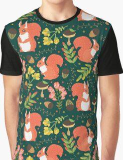 Cute squirrels Graphic T-Shirt