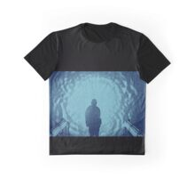 Jackson and the gate (blue) Graphic T-Shirt
