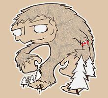 Sasquatch Friend by rebecca-miller