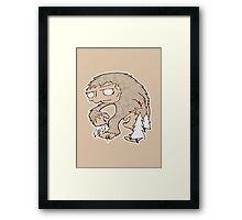 Sasquatch Friend Framed Print