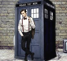 Matt Smith as the Doctor by emilymariee8