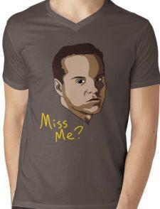 Miss Me? Mens V-Neck T-Shirt
