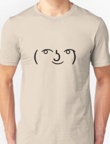 CHEAP MEME Lenny face emoji T-Shirt