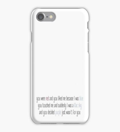Colors / Halsey iPhone Case/Skin